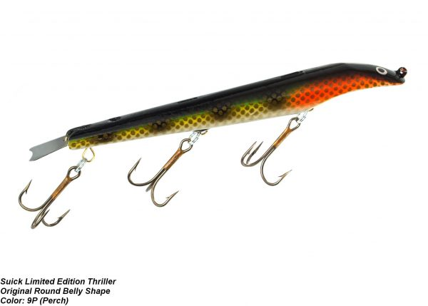 "Suick Limited Edition 9"" Non Weighted Round Belly Thriller [Classic Perch]"